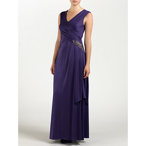 Buy Ariella Natalia Dress, Purple Online at johnlewis.com