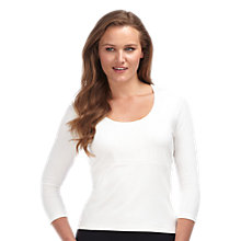 Buy Precis Petite Print Front Top Online at johnlewis.com