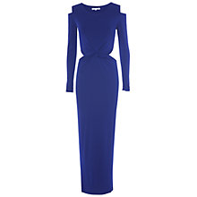 Buy True Decadence Twist Cut Out Maxi Dress, Electric Blue Online at johnlewis.com