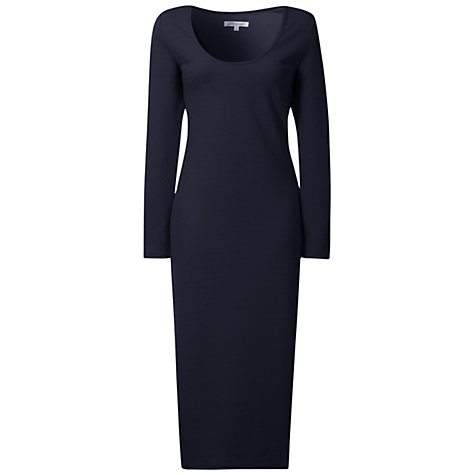 Buy True Decadence Midi Bodycon Dress, Navy Online at johnlewis.com