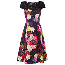 Buy Phase Eight Dora Fit & Flare Dress, Multi Online at johnlewis.com