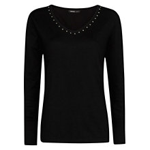 Buy Mango Bead Detail Sweater Online at johnlewis.com