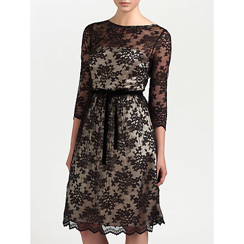 Buy Ariella Millie Dress, Black/Champagne Online at johnlewis.com
