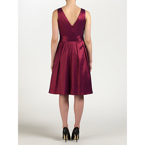 Buy Ariella Bella Dress, Wine Online at johnlewis.com