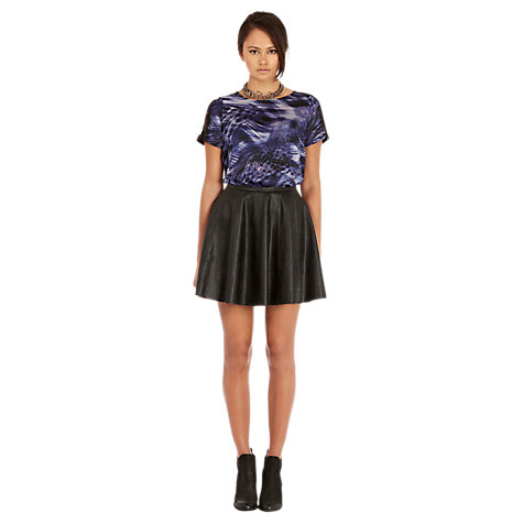 Buy Warehouse Abstract Top, Blue Online at johnlewis.com