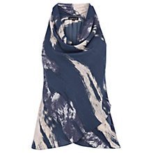 Buy Warehouse Cowl Halter Top, Multi Online at johnlewis.com