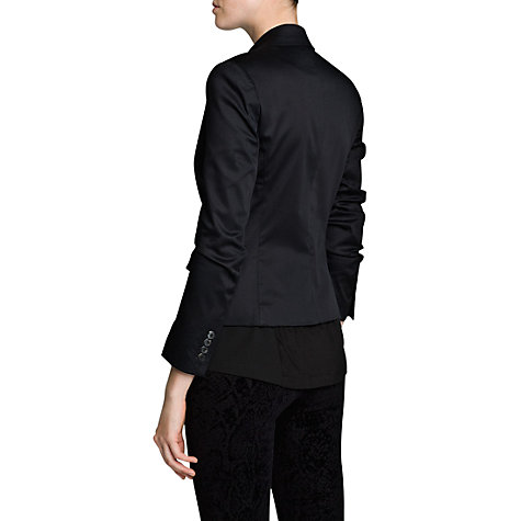 Buy Mango Tailored Suit Blazer, Black Online at johnlewis.com