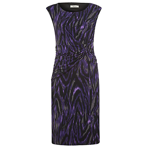 Buy Precis Petite Ikat Animal Print Dress, Multi Online at johnlewis.com