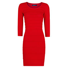 Buy Mango Textured Stripe Tailored Dress Online at johnlewis.com