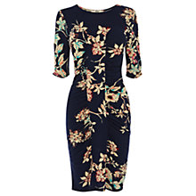 Buy Oasis Florence Dress, Blue/Multi Online at johnlewis.com