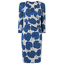 Buy Phase Eight Vintage Poppy Dress, Grey/Blue Online at johnlewis.com