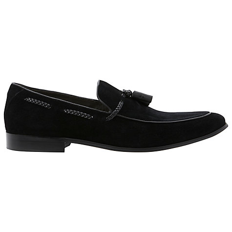 Buy Dune Ashfall Suede Loafers Online at johnlewis.com