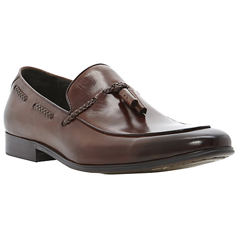 Buy Dune Ashfall Leather Loafers Online at johnlewis.com