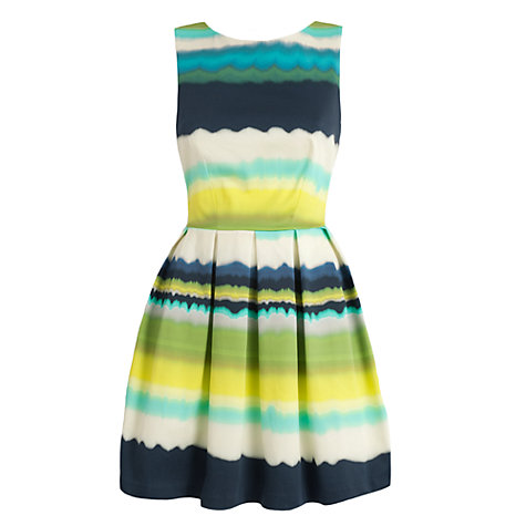 Buy Almari Stripe Full Dress, Multi Online at johnlewis.com