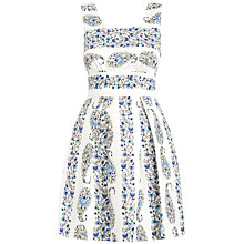 Buy Almari Cut-Out Floral Dress, Multi Online at johnlewis.com