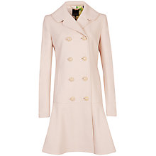 Buy Ted Baker Vivaine Hem Detail Coat Online at johnlewis.com