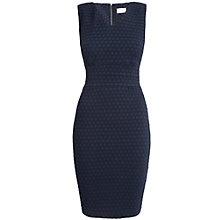 Buy Almari Waffle V-Neck Dress, Navy Online at johnlewis.com