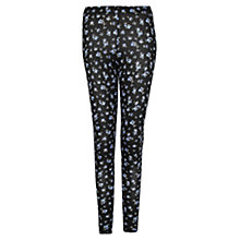 Buy Mango Printed Leggings, Medium Blue Online at johnlewis.com
