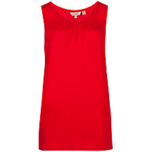 Buy Ted Baker Priti Racer Back Vest Top, Red Online at johnlewis.com