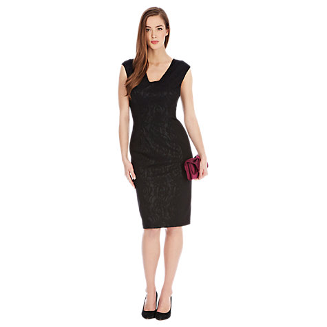 Buy Coast Romana Dress, Black Online at johnlewis.com