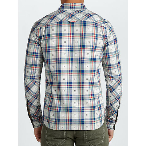 Buy Hilfiger Denim Darnley Shirt, Vallarta Blue Online at johnlewis.com