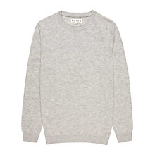 Buy Reiss Orion Merino Wool Crew Neck Jumper, Heather Online at johnlewis.com