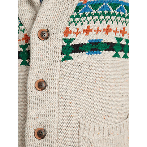 Buy Hilfiger Denim Baku Cardigan, Lark/Multi Online at johnlewis.com