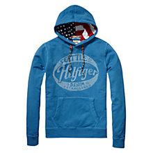 Buy Hilfiger Denim Kris Hoodie, Blue Online at johnlewis.com