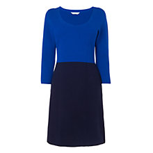 Buy L.K. Bennett Milano Colour Block Dress, Cobalt Online at johnlewis.com