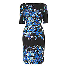 Buy L.K. Bennett Leticia Printed Dress, Blue Online at johnlewis.com