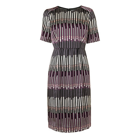 Buy L.K. Bennett Silk Print Dress, Multi Online at johnlewis.com