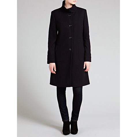 Buy Basler Classic Wool Coat, Marine Online at johnlewis.com