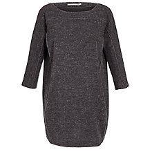 Buy Sandwich Double Faced Flecked Jersey Dress, Grey Heather Online at johnlewis.com