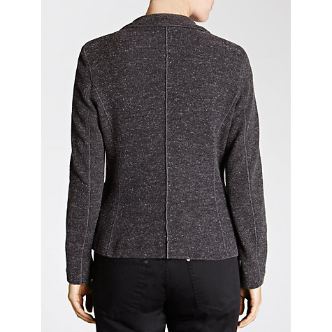 Buy Sandwich Flecked Jersey Jacket, Grey Heather Online at johnlewis.com