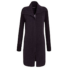 Buy Sandwich Felted Long Coat, Black Online at johnlewis.com