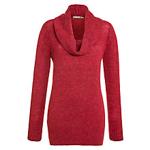 Buy Sandwich Cowl Neck Jumper, Crimson Pink Online at johnlewis.com