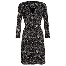Buy Sandwich Dotted Triangle Wrap Dress, Black Online at johnlewis.com