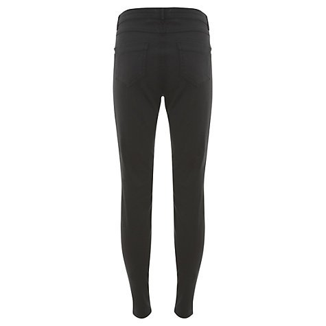 Buy Mint Velvet Luxe Zip Jeans Online at johnlewis.com