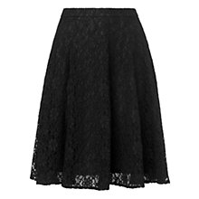 Buy L.K. Bennett Lace Skirt, Black Online at johnlewis.com