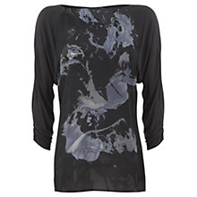 Buy Mint Velvet Gemma Print Top, Multi Online at johnlewis.com