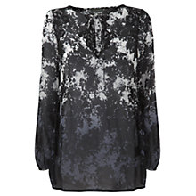 Buy Mint Velvet Darcia Print Top, Multi Online at johnlewis.com