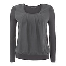 Buy Mint Velvet Silk Panel Top Online at johnlewis.com