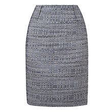 Buy L.K. Bennett Belva Tweed Pencil Skirt, Navy Online at johnlewis.com