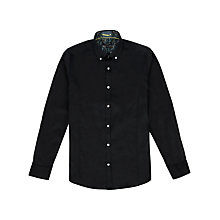 Buy Ted Baker Tresgud Plain Paisley Detail Shirt Online at johnlewis.com