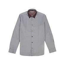 Buy Ted Baker Ticboom Contrast Collar Shirt Online at johnlewis.com
