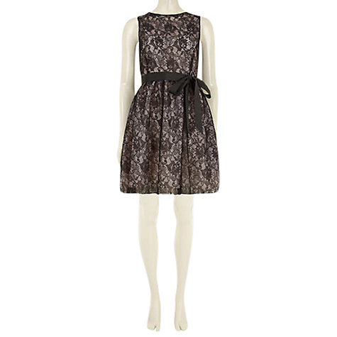 Buy Rise Alexia Dress, Black Online at johnlewis.com