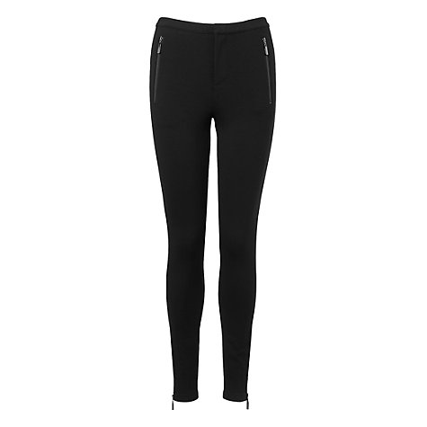 Buy L.K. Bennett Ginger Leggings, Black Online at johnlewis.com
