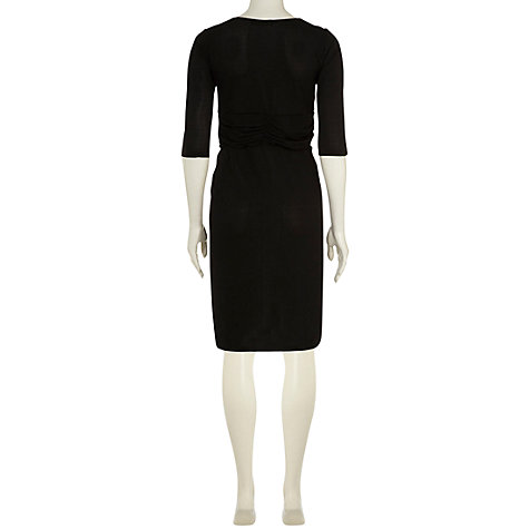 Buy Rise Lydia Dress, Black Online at johnlewis.com