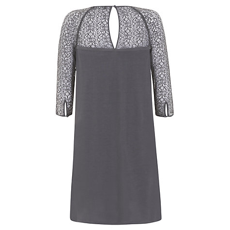 Buy Mint Velvet Gwen Silk Front Dress, Multi Online at johnlewis.com