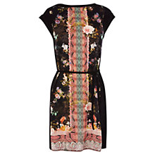Buy Oasis Scarf Print Dress, Multi Online at johnlewis.com